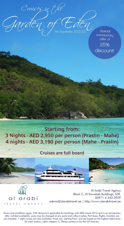 Seychelles mini cruises